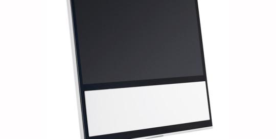 Beovision 11 kleur wit met vloerstandaard