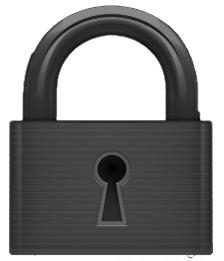 De BeoVision 12 is beveiligd met een pincode